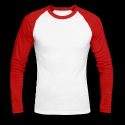 t-shirt baseball manche longue homme